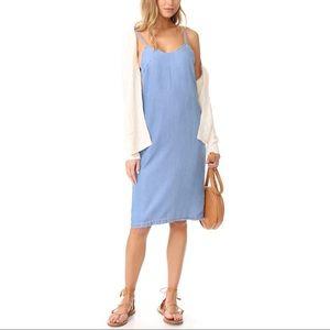 MINKPINK Icon Chambray Slip Dress
